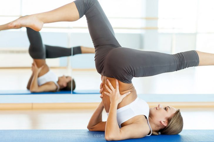 йога при варикозе нижних конечностей комплекс упражнений