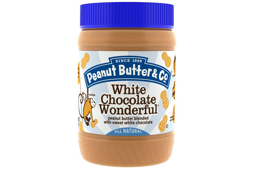 Peanut Butter & Co., White Chocolate Wonderful, арахисовое масло, смешанное со сладким белым шоколадом, 454 г