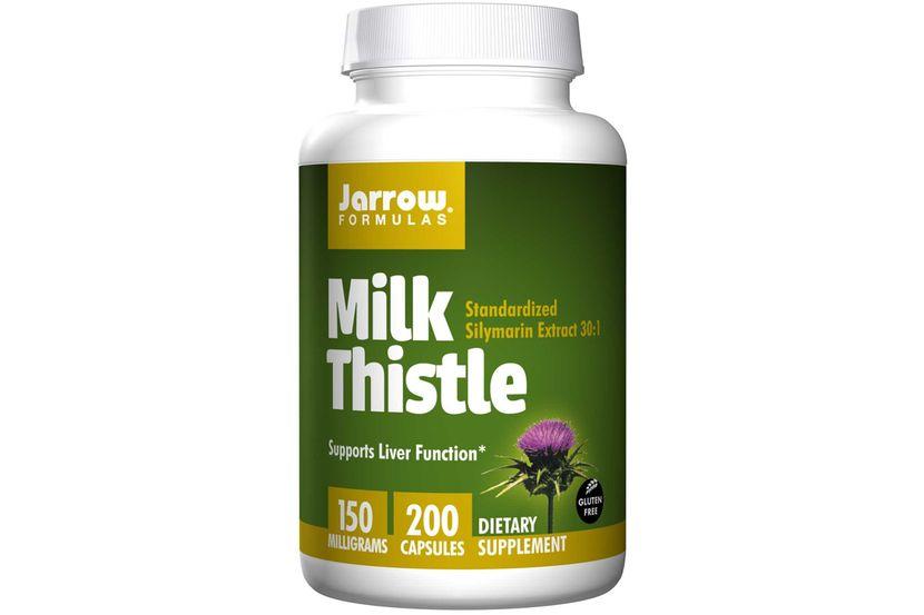 Jarrow Formulas, Молочный чертополох, 150 мг, 200 капсул