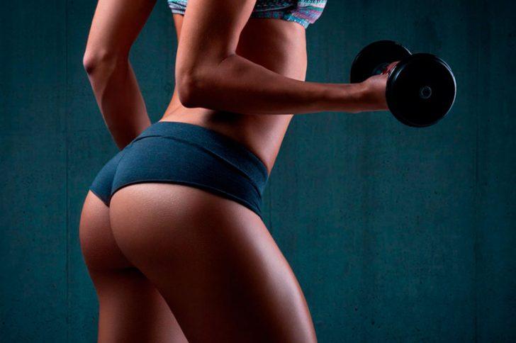 Физические упражнения для роста мышц ягодиц и сбалансированное питание