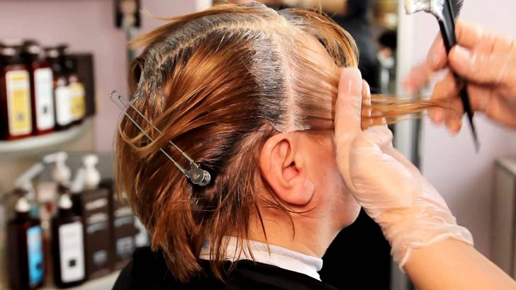 Маски для волос седых