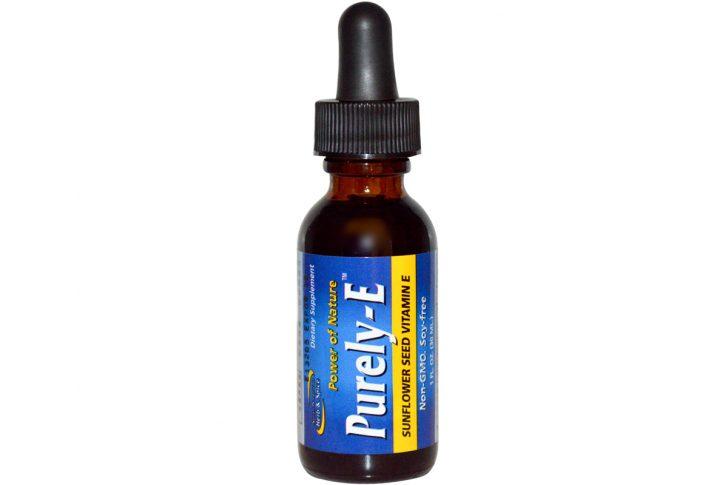 North American Herb & Spice Co., Purely-E, чистый витамин Е из семян подсолнуха, 30 мл.