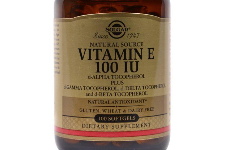 Витамин Е для кожи лица в капсулах