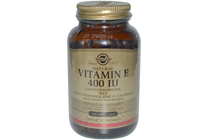 Витамин Е: отзывы