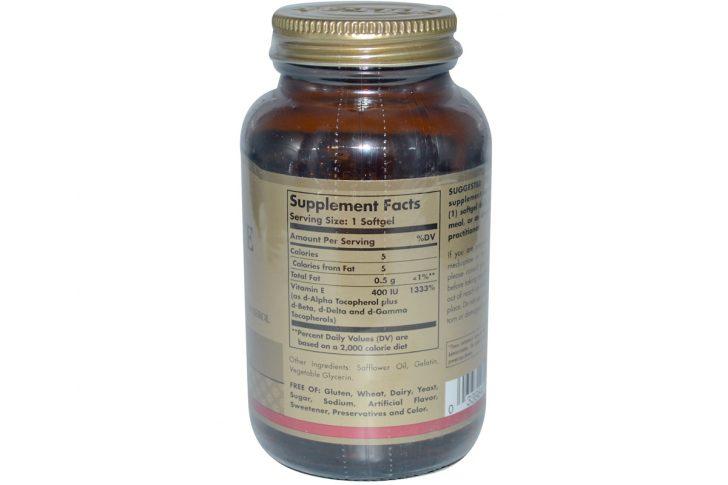Незаменимый витамин Е: его свойства