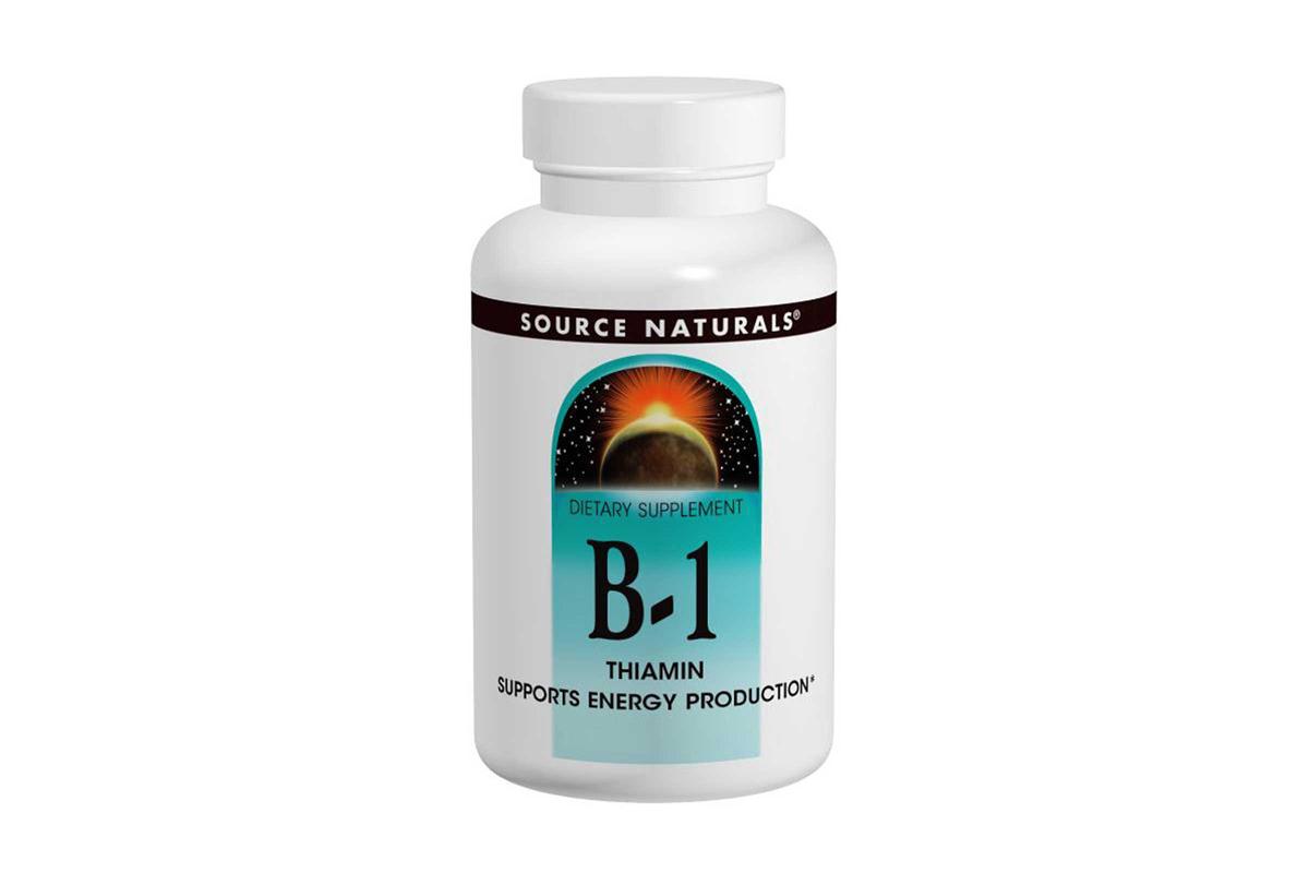 Source Naturals, Витамин B-1, тиамин, 100 таблеток