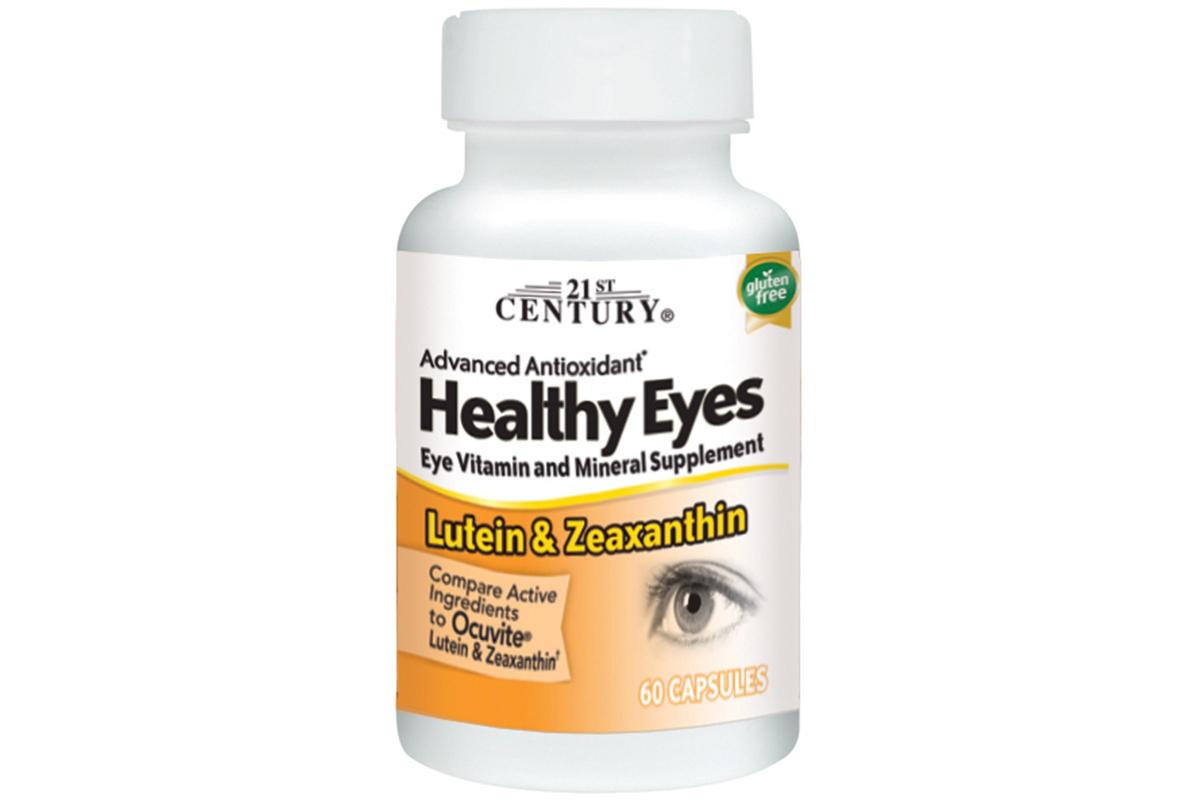 21st Century, Healthy Eyes, лютеин и зеаксантин, 60 капсул