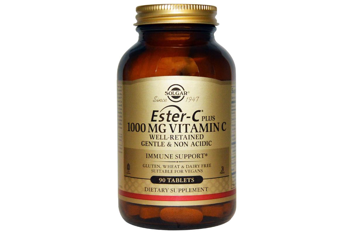 Solgar, Ester-C Plus, 1000 mg Vitamin C, 90 Tablets