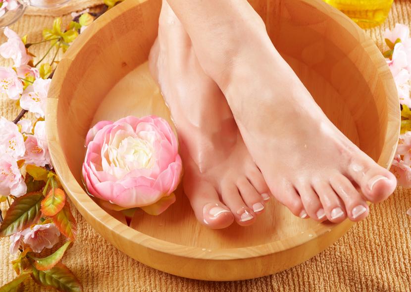Ванночки с содой от грибка ногтей для ног