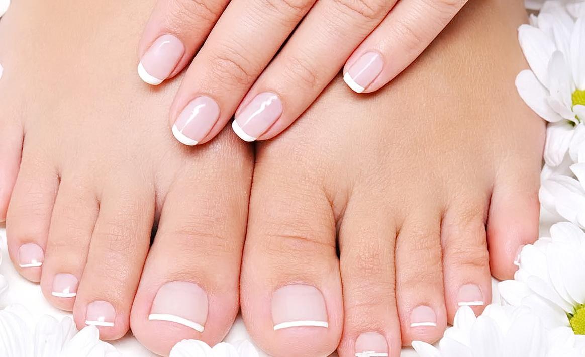 Картинки ногтей на ногах френч