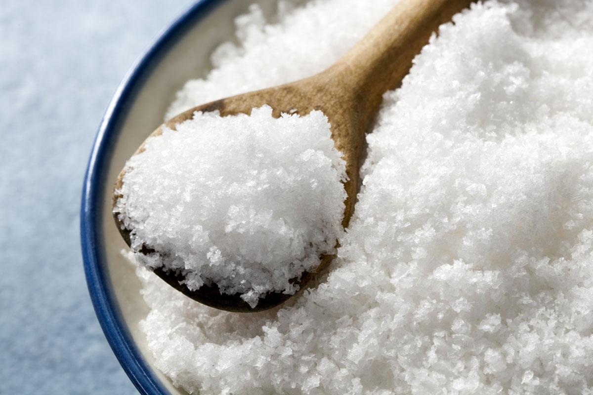 Морская соль и пищевая сода