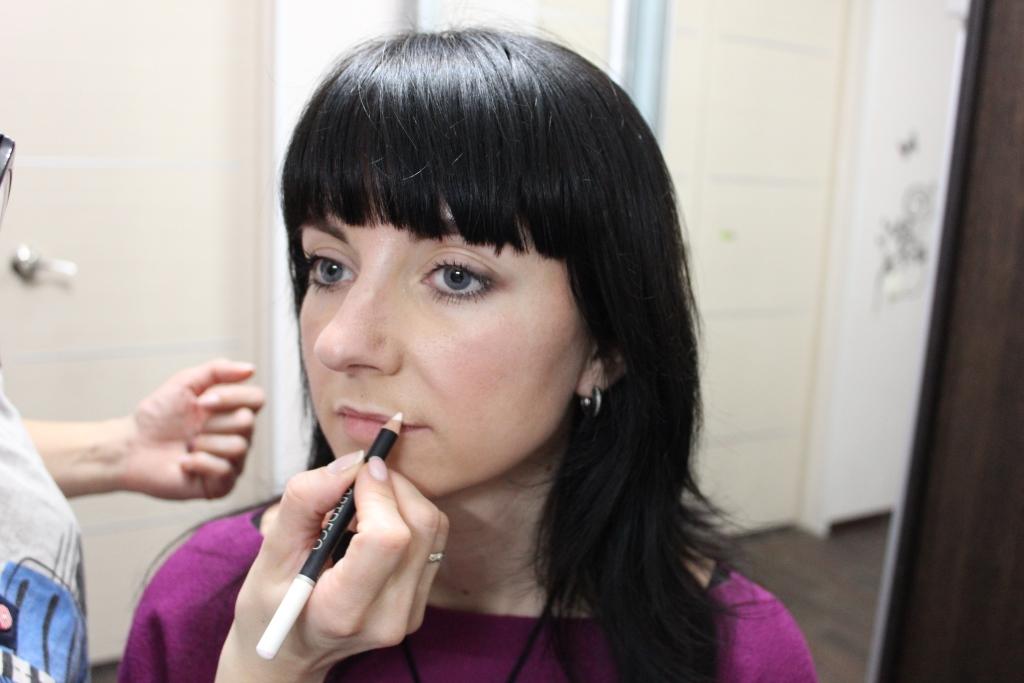Макияж – быстрое решение проблемы тонких губ