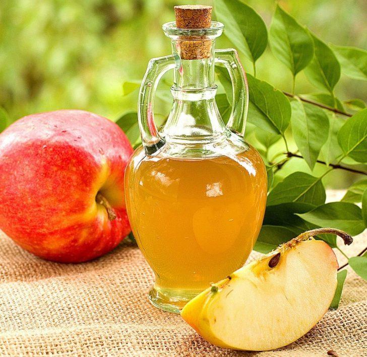 Яблочный уксус от папиллом