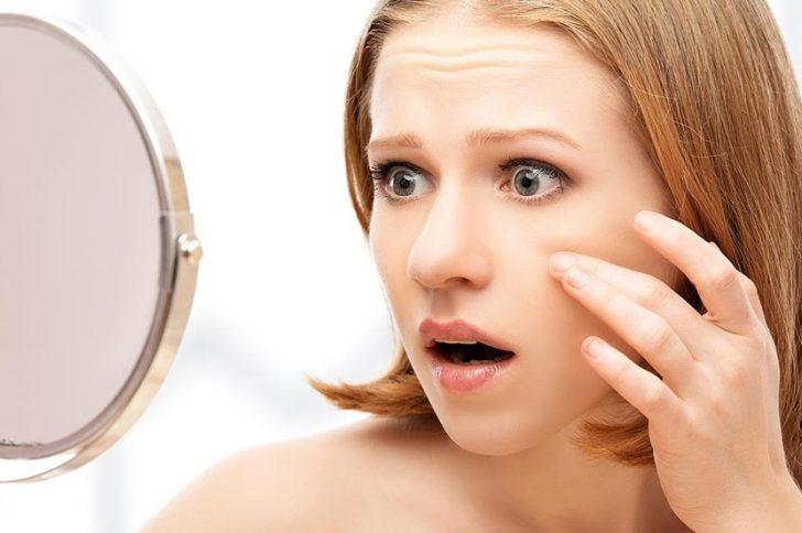 Проблемы кожи на лице бородавки