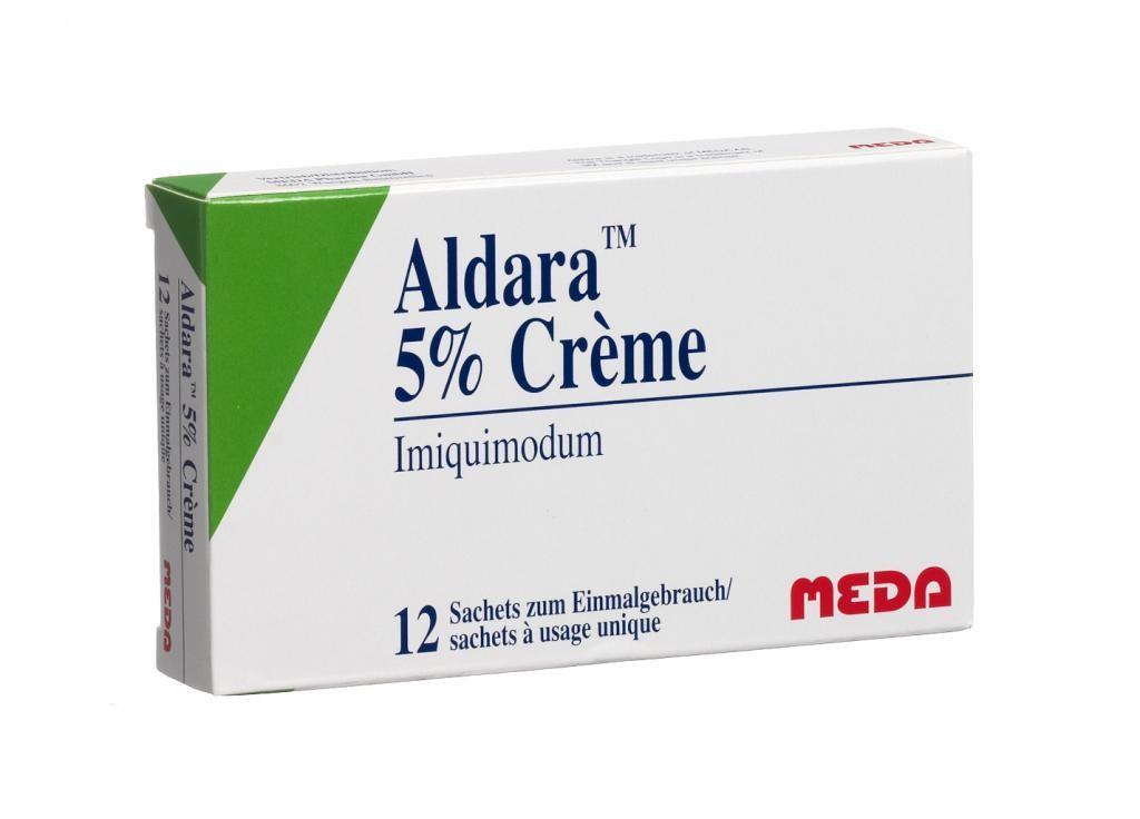 Альдара: особенности лечения бородавок
