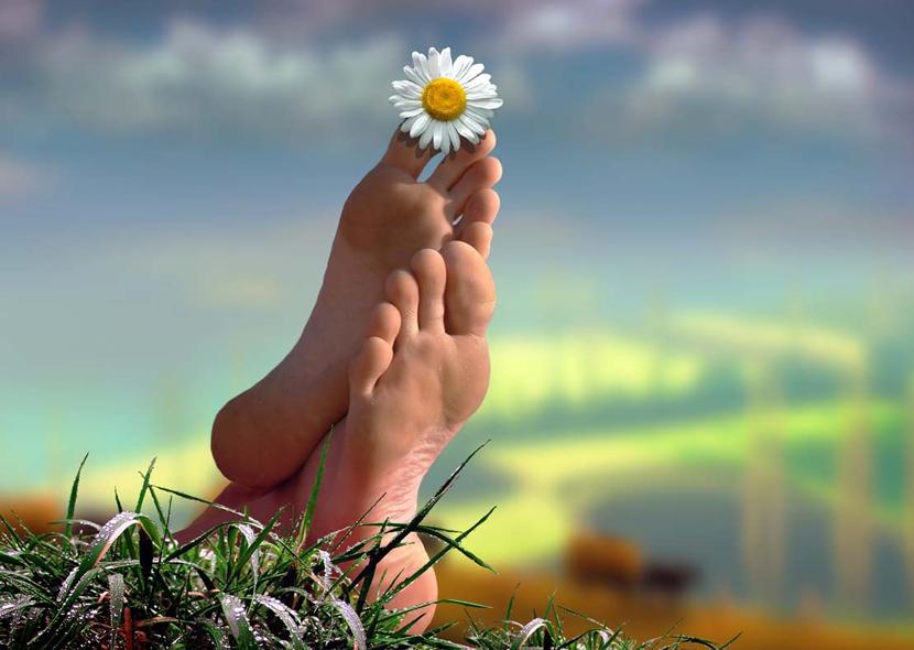 Как с помощью яблочного уксуса избавиться от потливости и запаха ног