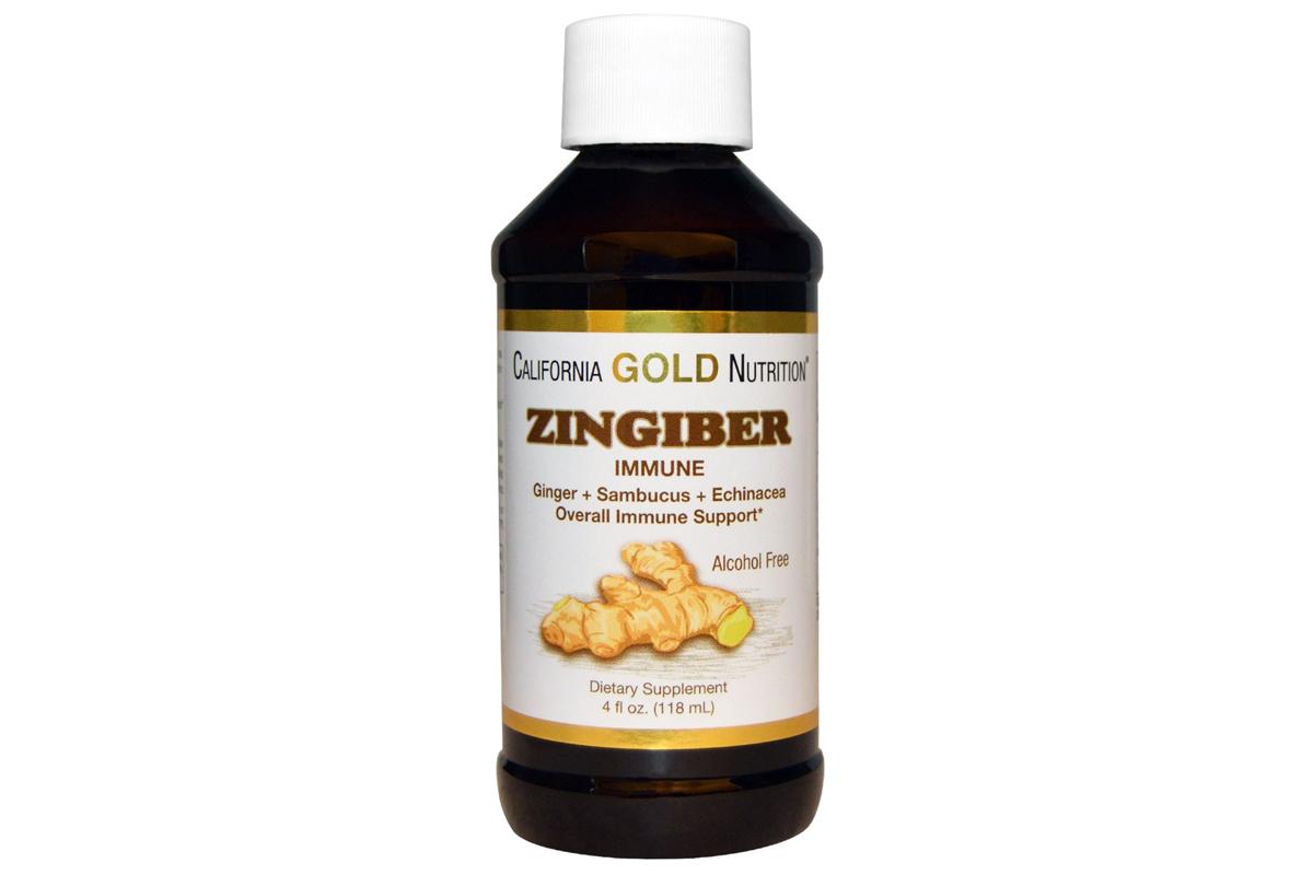 Комплекс «Поддержка иммунной системы» (118 мл) от California Gold Nutrition
