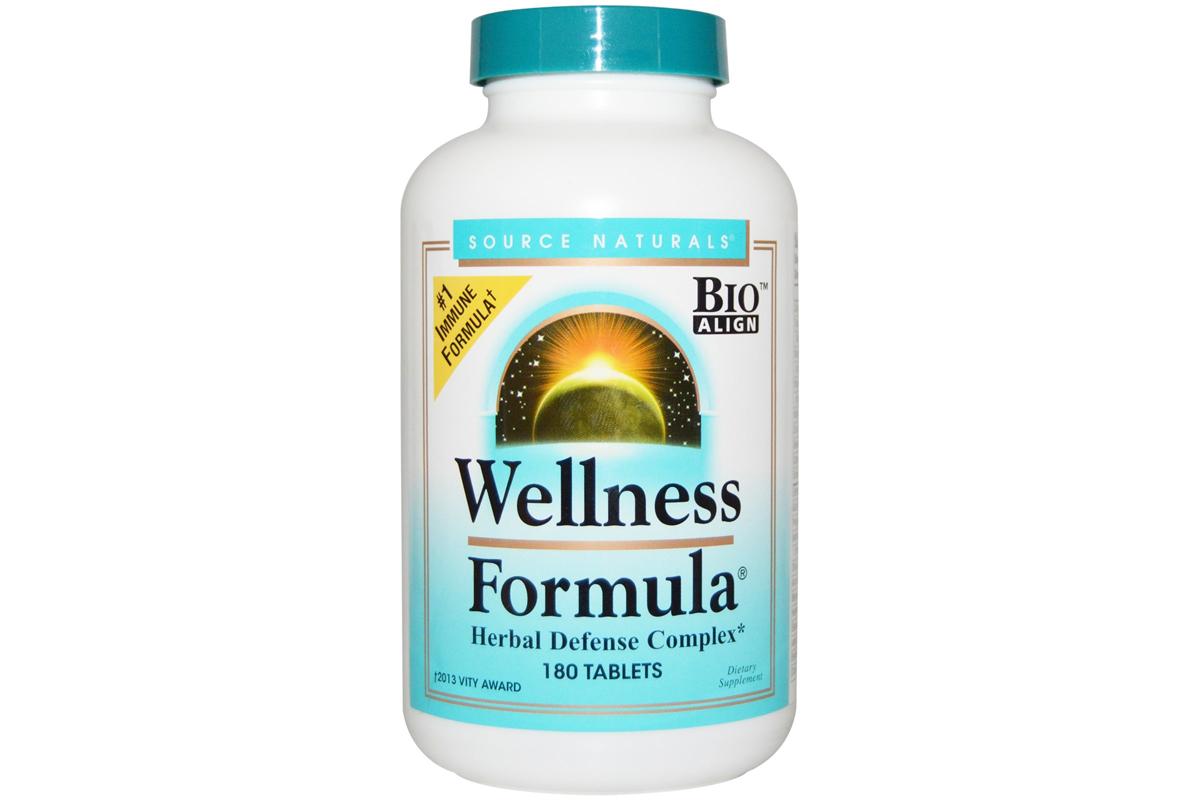 Wellness Formula в таблетках (180 штук) от Source Naturals