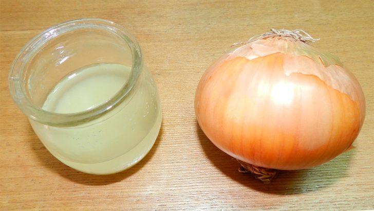 Луковый или чесночный сок