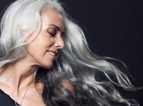 Продукты против седых волос
