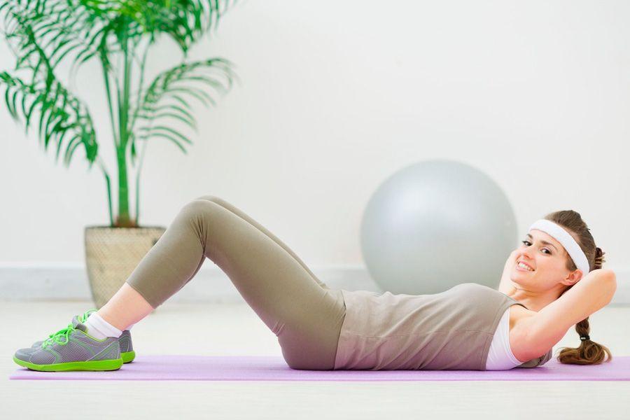 Упражнения для нижней части пресса живота