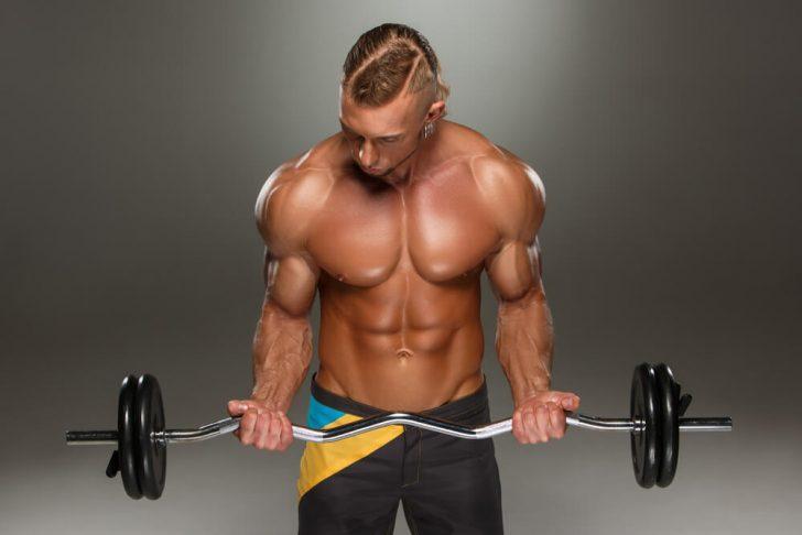 Упражнения для бицепса со штангой