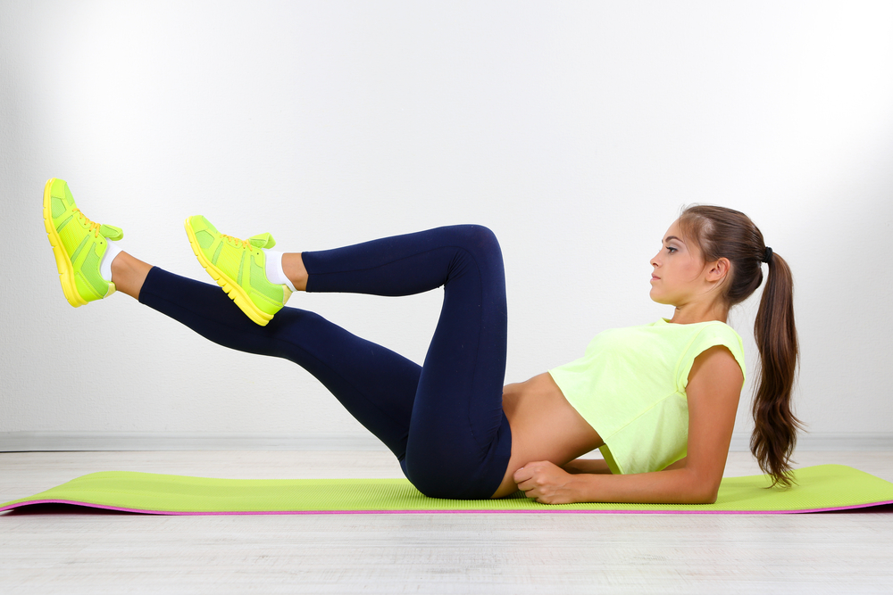 Упражнения для формирования плоского живота