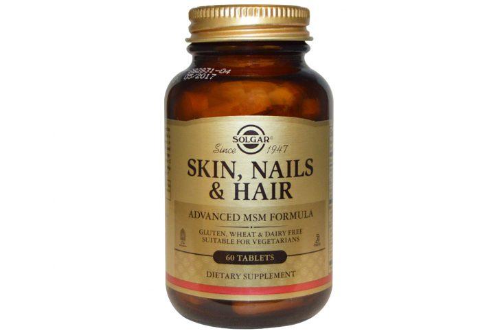 Солгар для кожи волос и ногтей