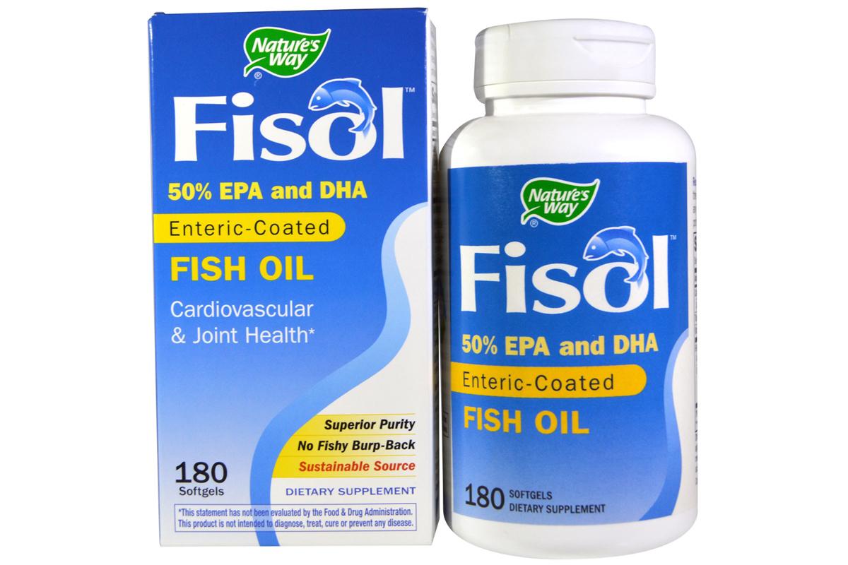 Рыбий жир Fisol от Nature's Way