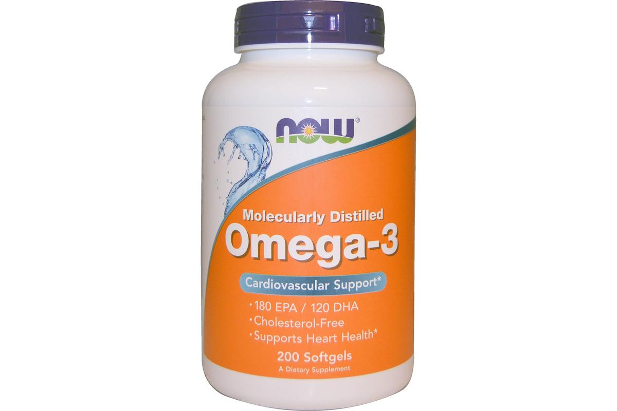 Омега-3 в мягких желатиновых капсулах от Now Foods