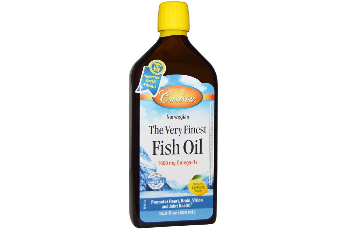 Жидкий рыбий жир с натуральным вкусом лимона (500 мл) от Carlson Labs