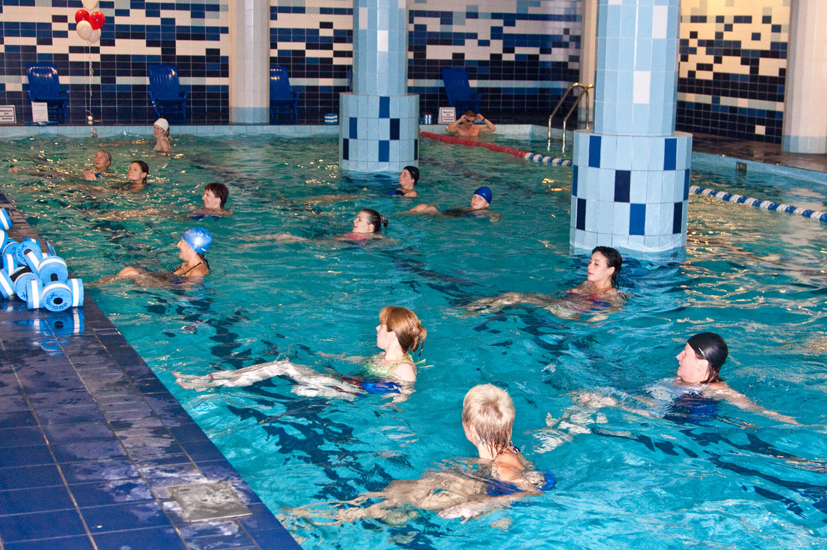 Фитнес-клуб и аквааэробика