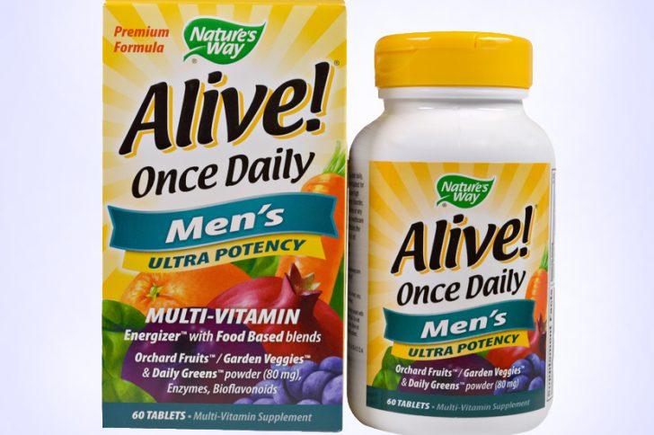 Рейтинг витаминных комплексов для мужчин