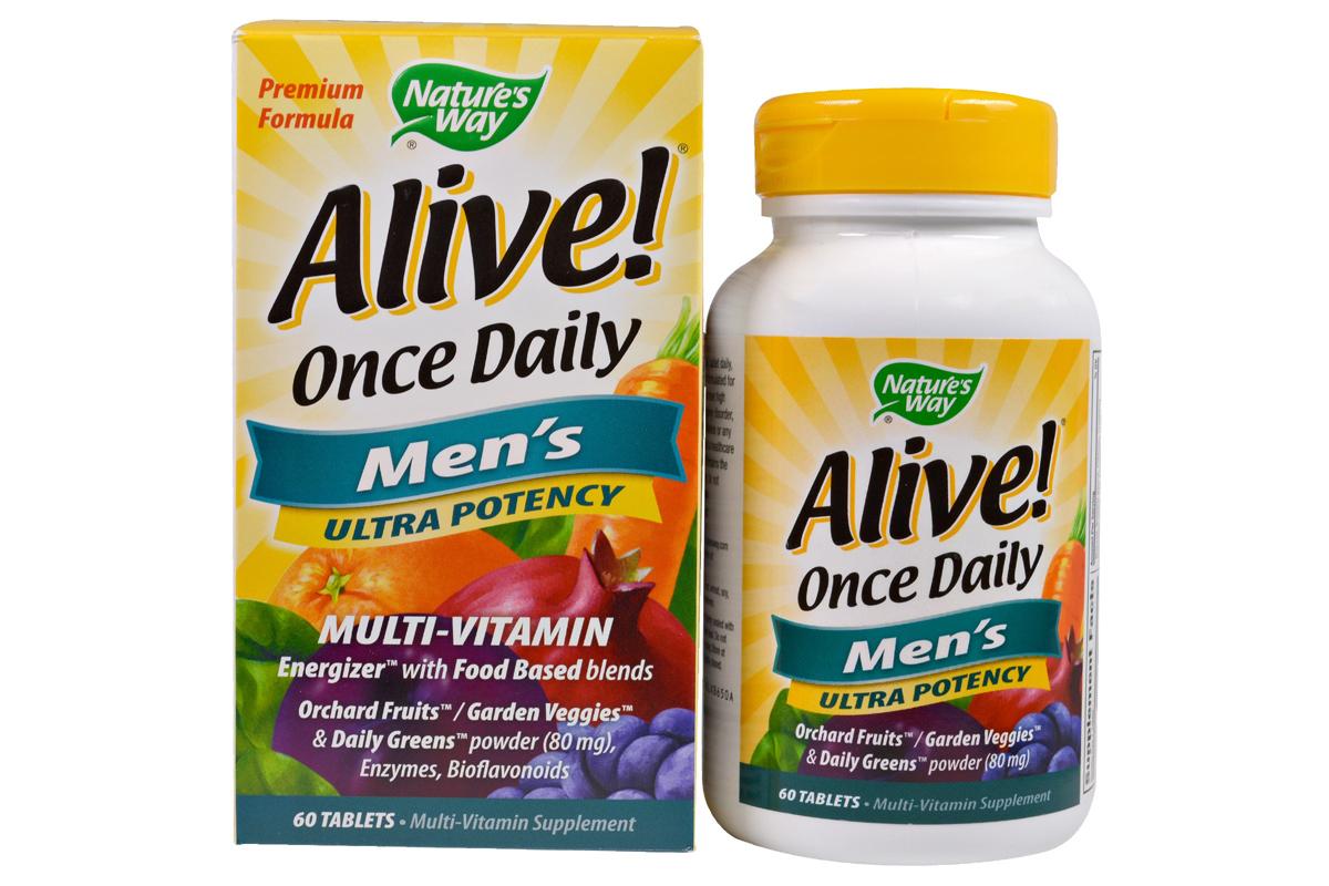 Alive! Раз в день в таблетках (60 штук) от Nature's Way