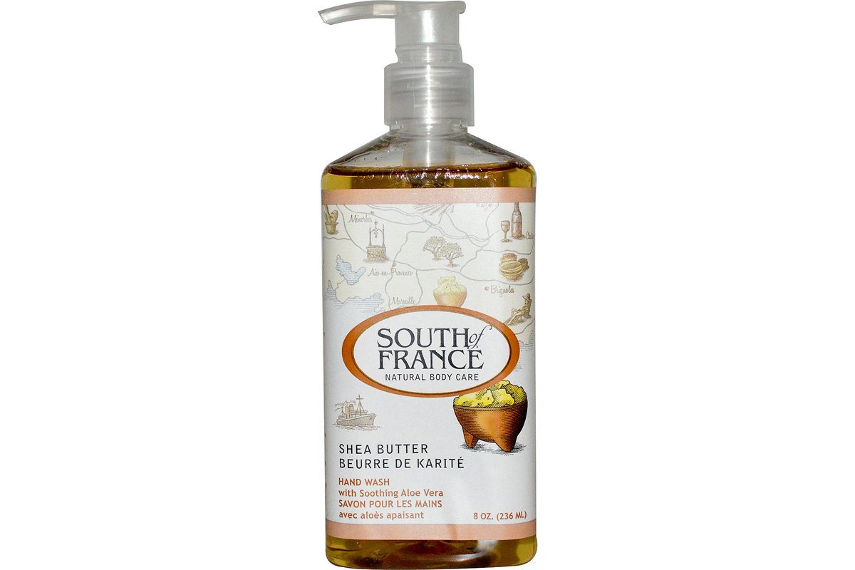 Масло ши, успокаивающее средство для мытья рук от South of France 236 мл (8 унций)