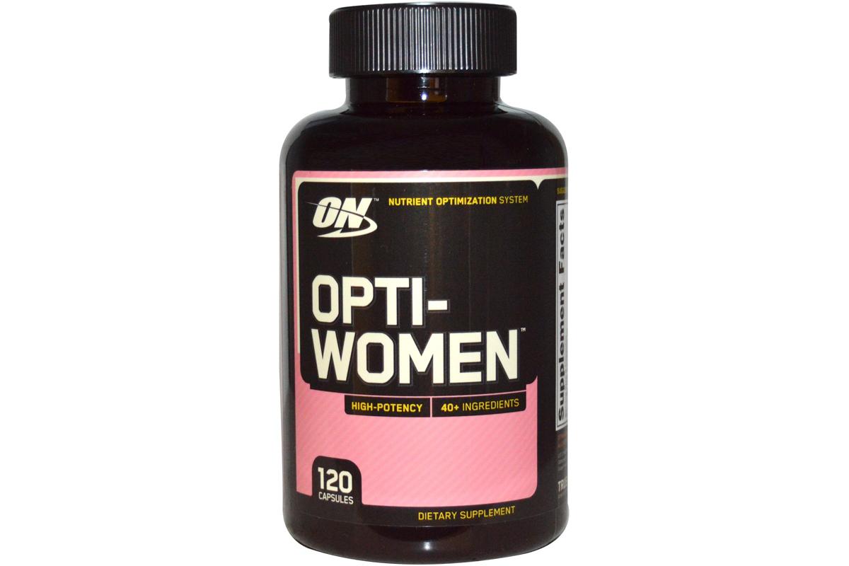 Optimum Nutrition, Opti-Women, Система оптимизации питательных веществ в капсулах (120 штук)