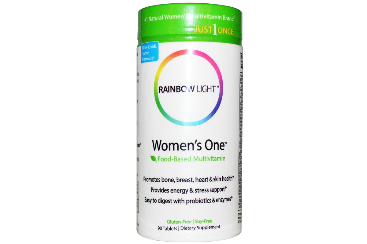 Rainbow Light, Just Once, пищевой мультивитамин для женщин, в таблетках (90 штук)
