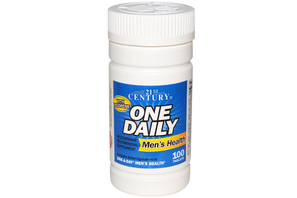 21st Century, One Daily для мужского здоровья, 100 таблеток
