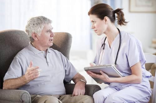 Вызов психиатра на дом для пожилого человека