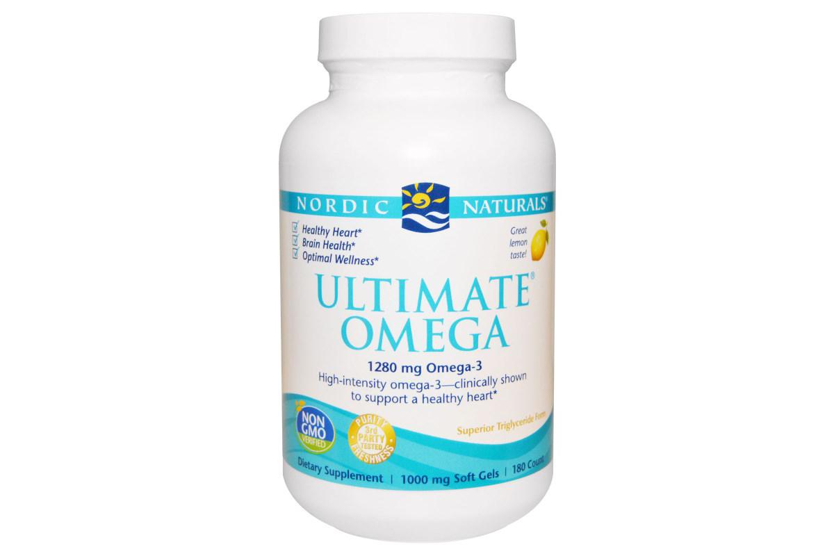 Ultimate Omega в капсулах от Nordic Naturals