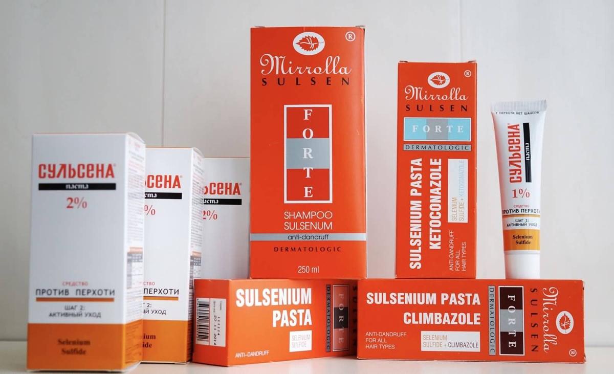 Применение препарата Сульсена