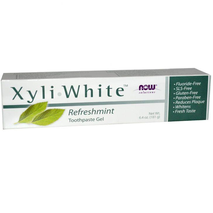 Гель-паста Xyli-White со вкусом свежей мяты, Now Foods Solutions (181 г)