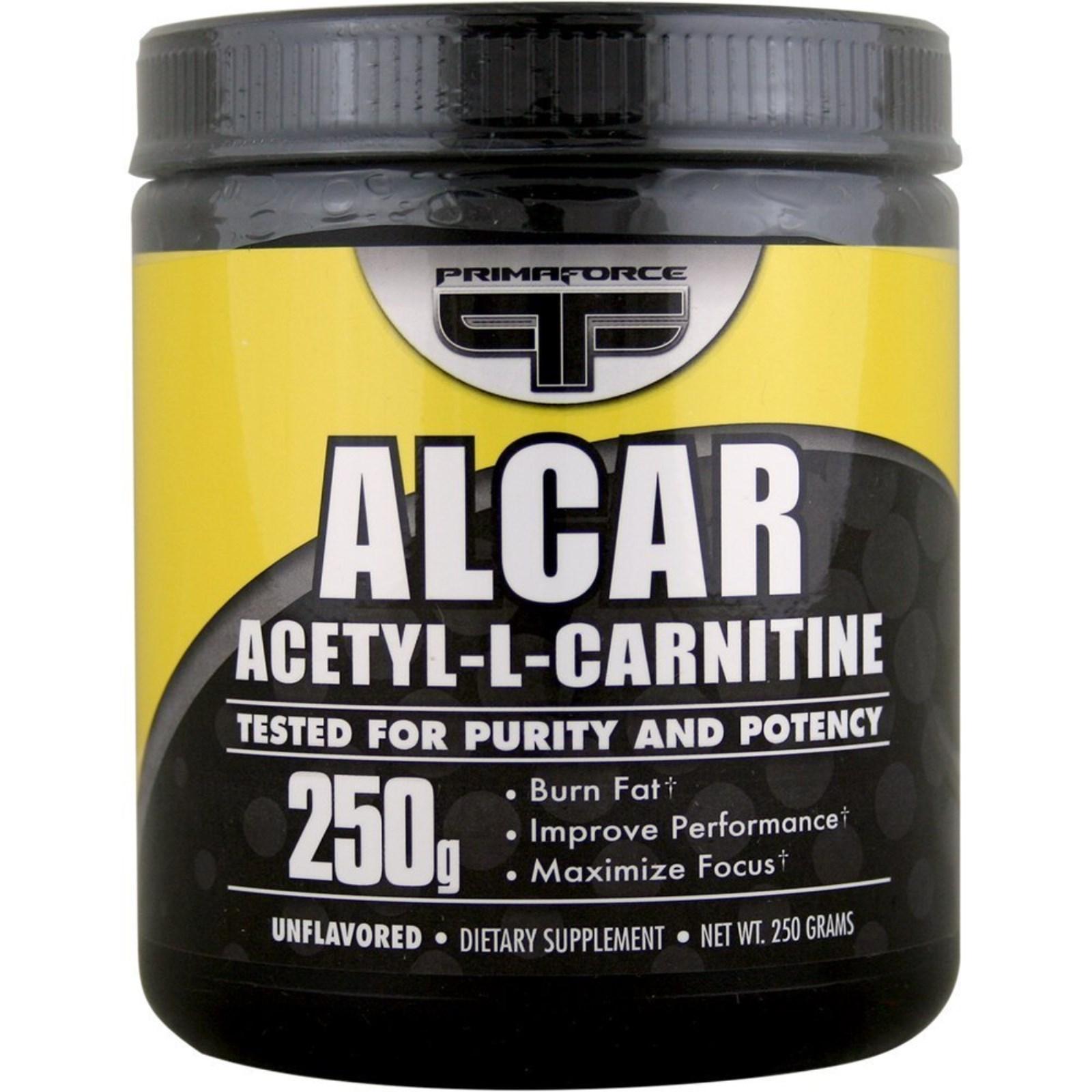 Ацетил-Л-карнитин Alcar в порошке от Primaforce (США).