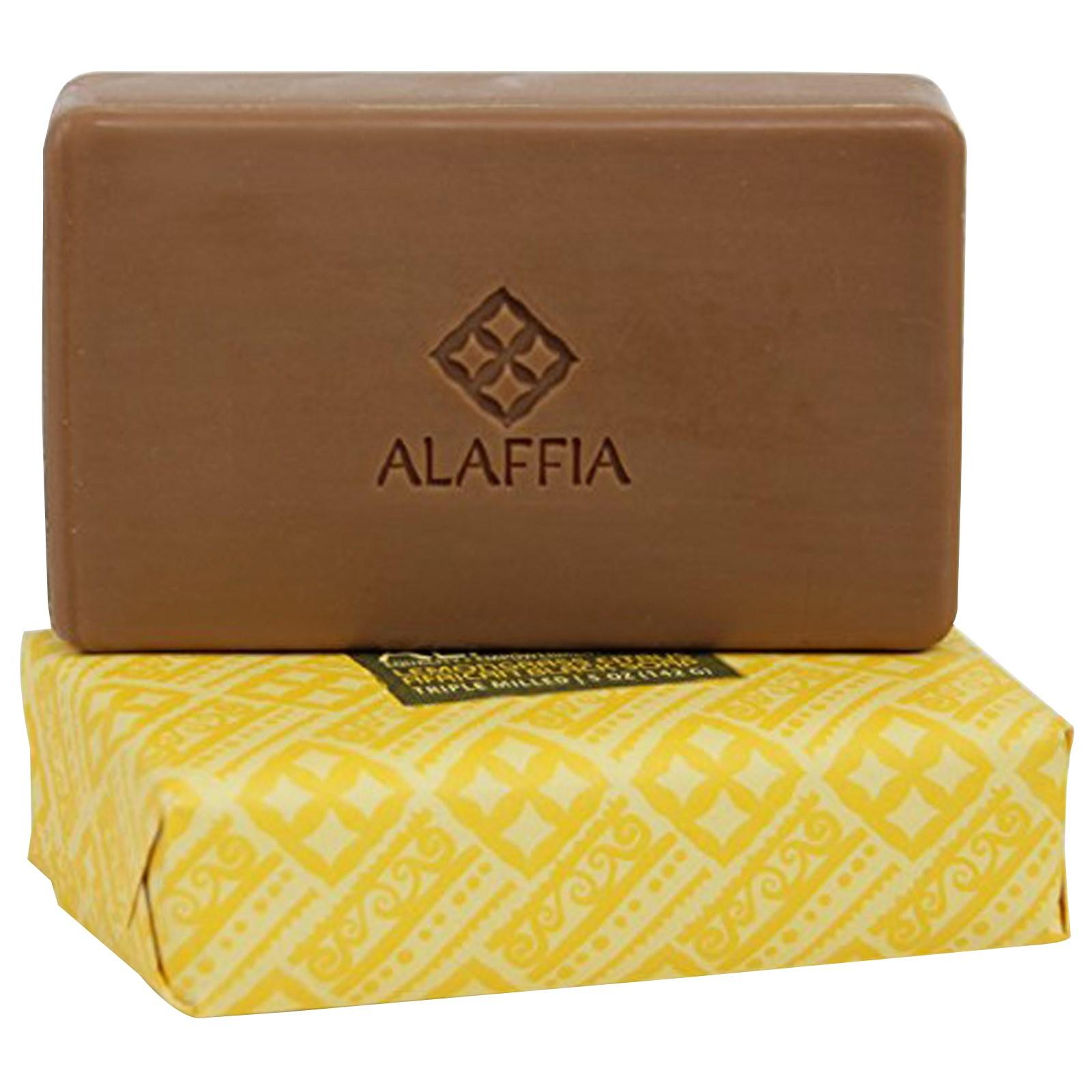 Африканское черное мыло тройного размола Alaffia (142 г)