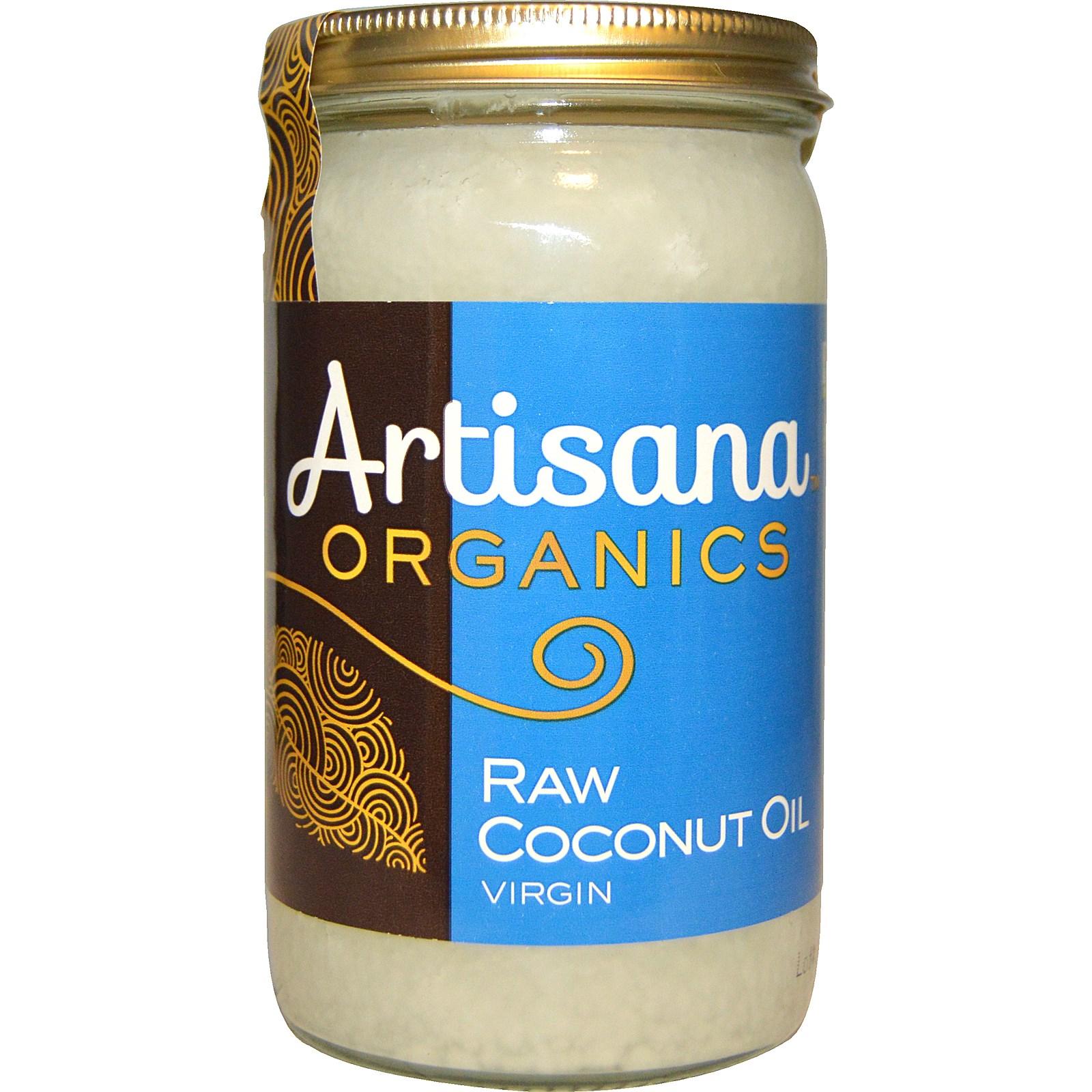 Аrtisana, Organics, сырое кокосовое масло
