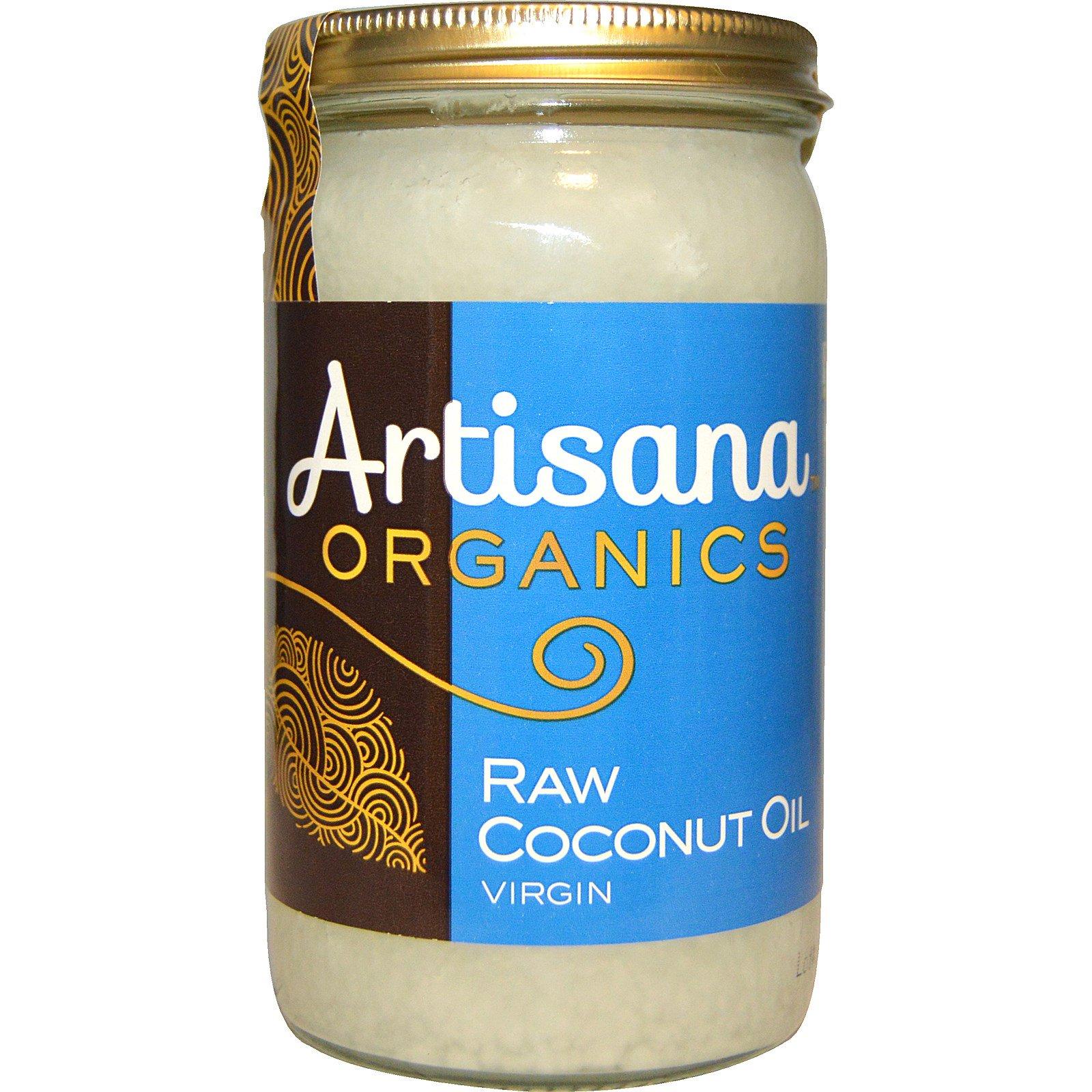 Artisana, Organics, сырое кокосовое масло, нерафинированное, 14 унций (414 г).