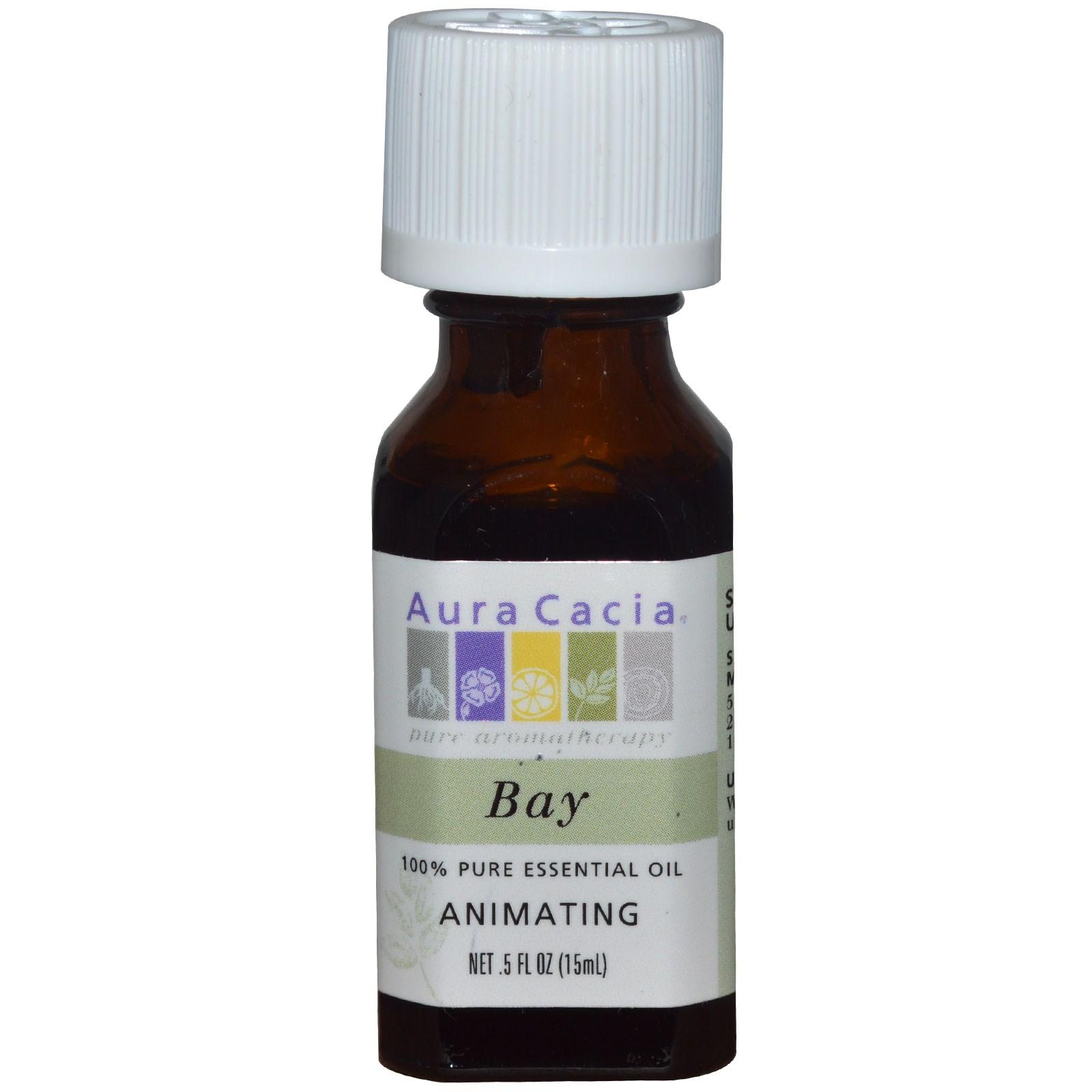 100% эфирное масло лавра от Aura Cacia (15 мл)