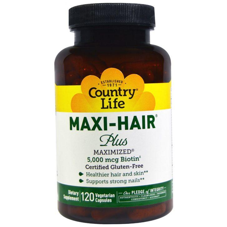 Maxi Hair Plus в таблетках (120 штук)
