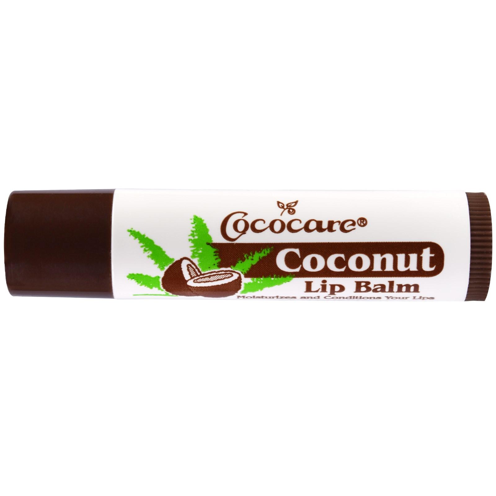 Бальзам для губ с кокосом от Cococare