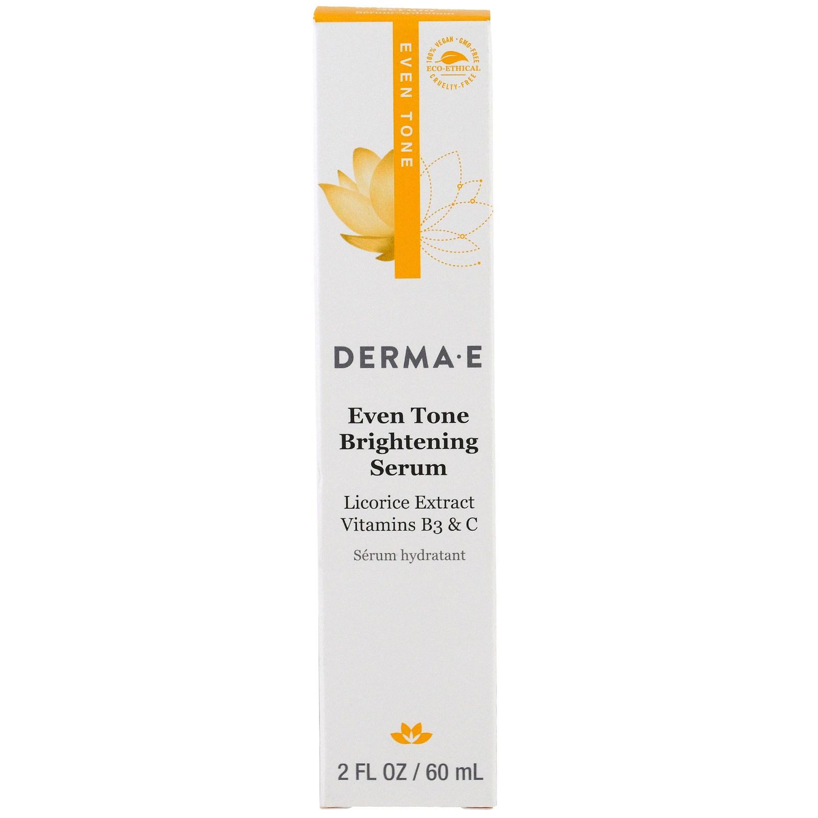 Осветляющая сыворотка с витамином С Derma E 60 мл